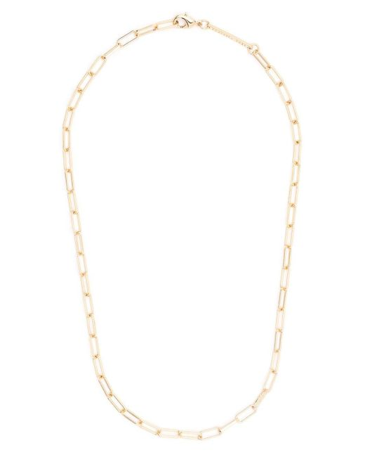 FEDERICA TOSI Metallic Cable Link Necklace