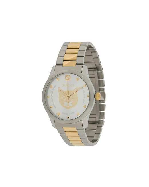 aa9d805f3ad Gucci - Metallic G-timeless Watch for Men - Lyst ...