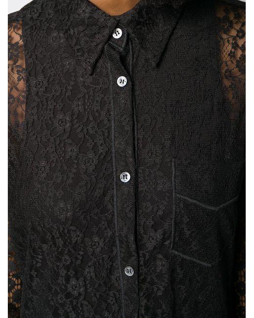 Кружевное Платье С Тюлем Viktor & Rolf, цвет: Black
