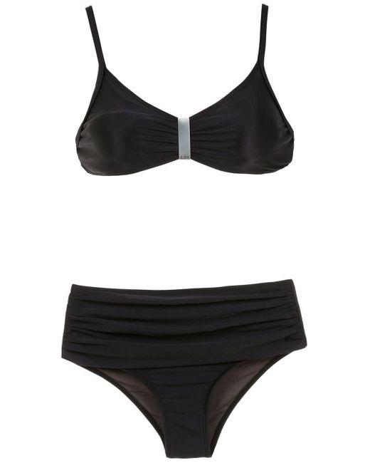 Lygia & Nanny Women's Black Anne Bikini Set