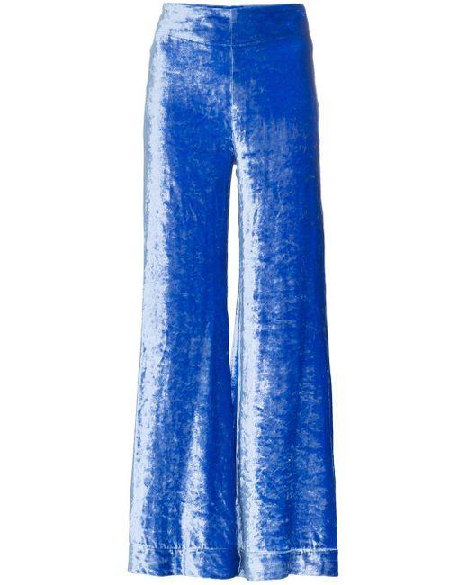 Deitas Venus ベルベット パンツ Blue