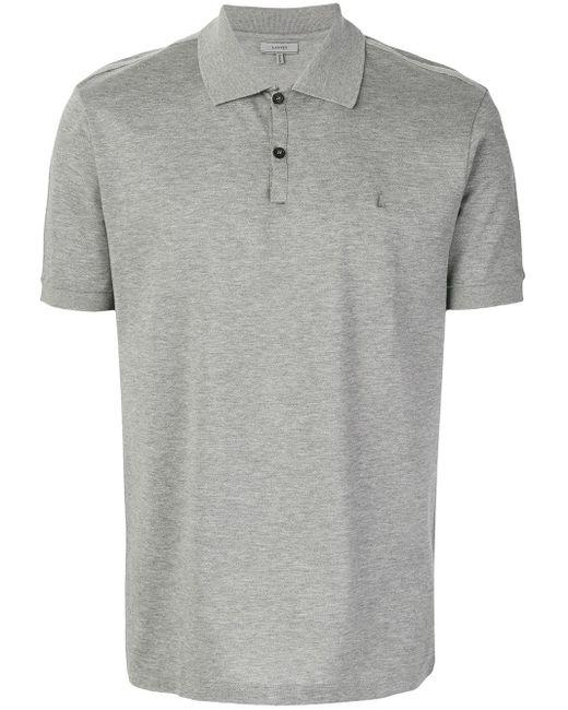 メンズ Lanvin クラシック ポロシャツ Gray