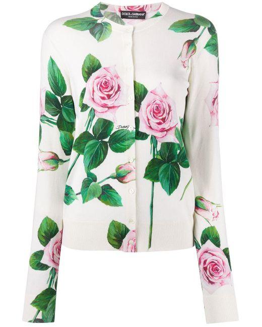 Dolce & Gabbana ローズトップ Multicolor