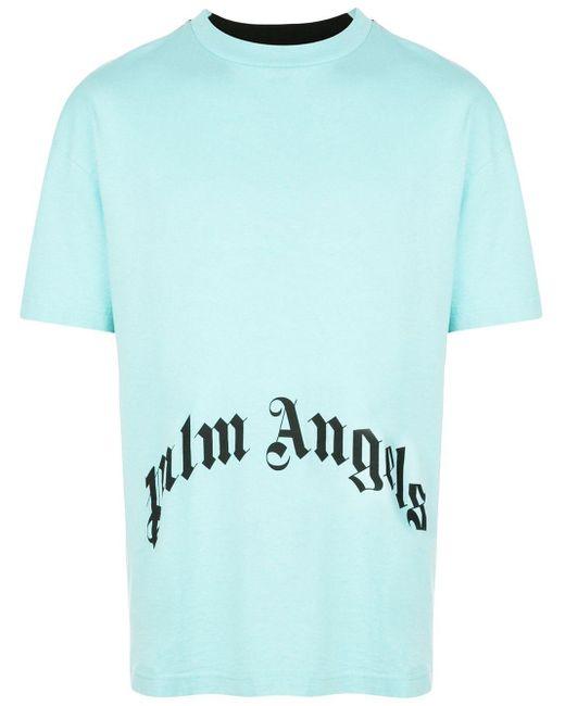 メンズ Palm Angels スカル プリント Tシャツ Multicolor