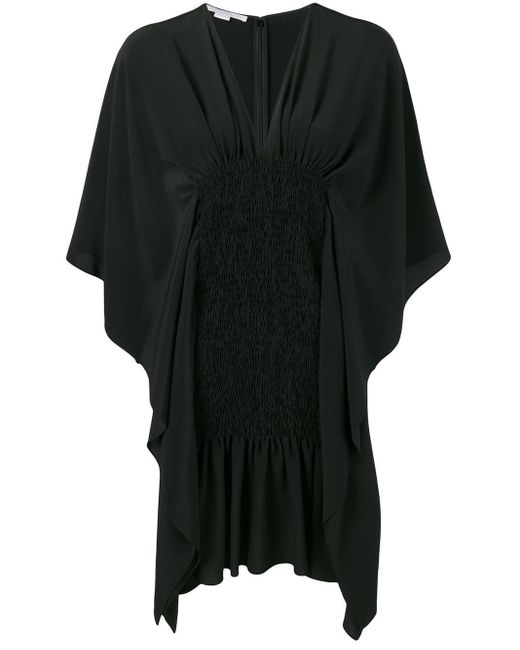 Stella McCartney ドレープ ドレス Black