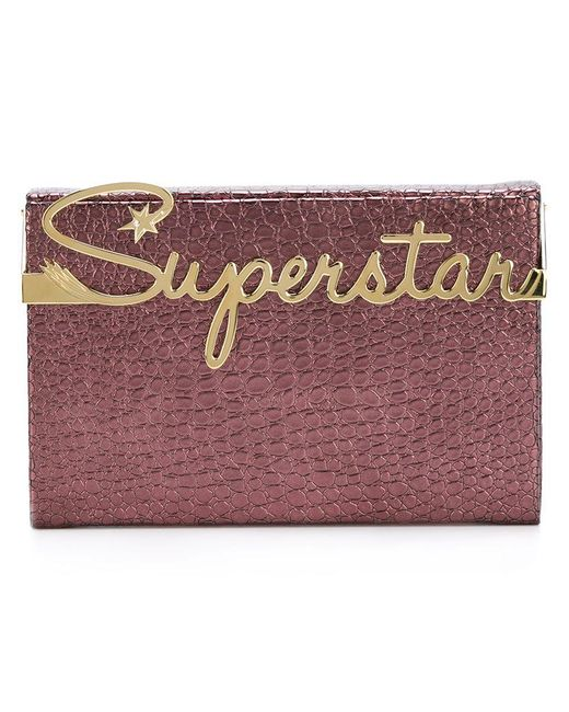 Charlotte Olympia - Purple 'superstar Vanity' Clutch - Lyst