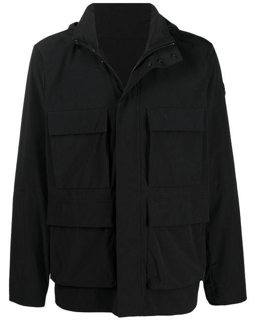 メンズ Moncler フーデッド ジャケット Black