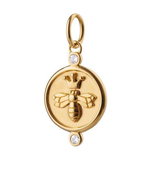 Monica Rich Kosann Queen Bee チャーム 18kイエローゴールド Metallic