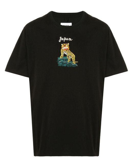 メンズ Doublet タイガー Tシャツ Black