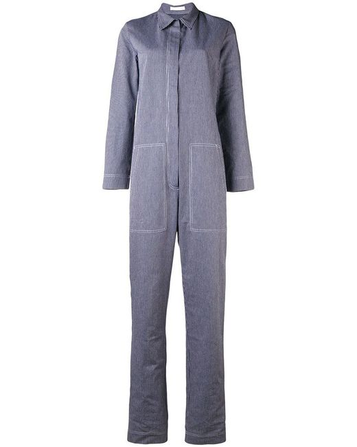 Peter Jensen - Blue Striped Boiler Suit - Lyst