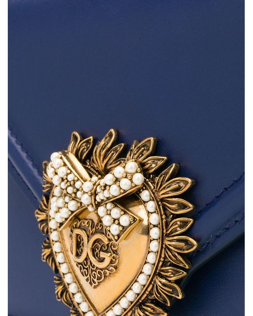 Dolce & Gabbana Devotion ハンドバッグ S Blue