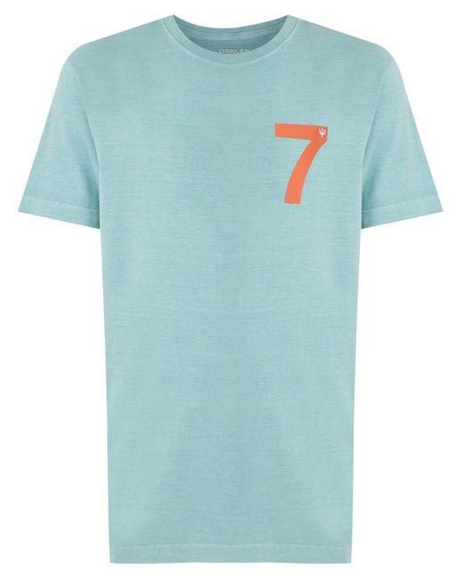 メンズ Osklen Surfing Tシャツ Blue