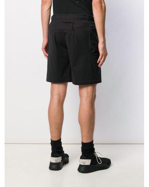 メンズ Satisfy トラックショーツ Black