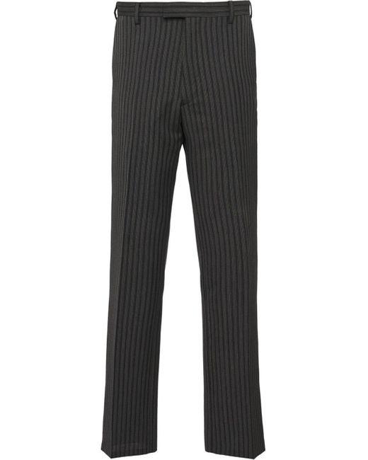 メンズ Prada ストライプ パンツ Multicolor
