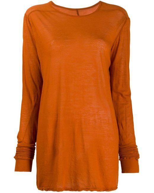 Rick Owens オーバーサイズ トップ Orange