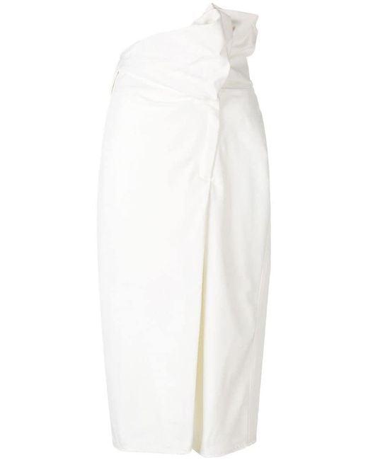 Ambush - White Hues Skirt - Lyst