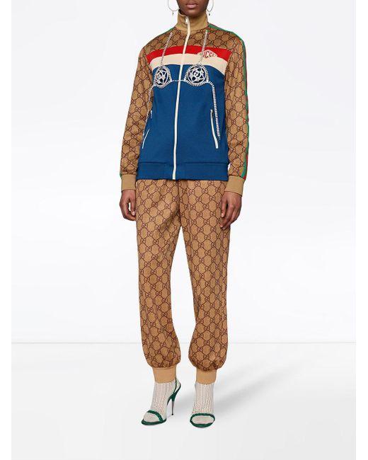 Gucci GGテクニカルジャージー ジョガーパンツ Multicolor