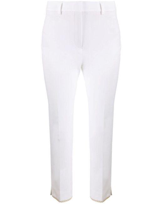Incotex クロップド テーラードパンツ White