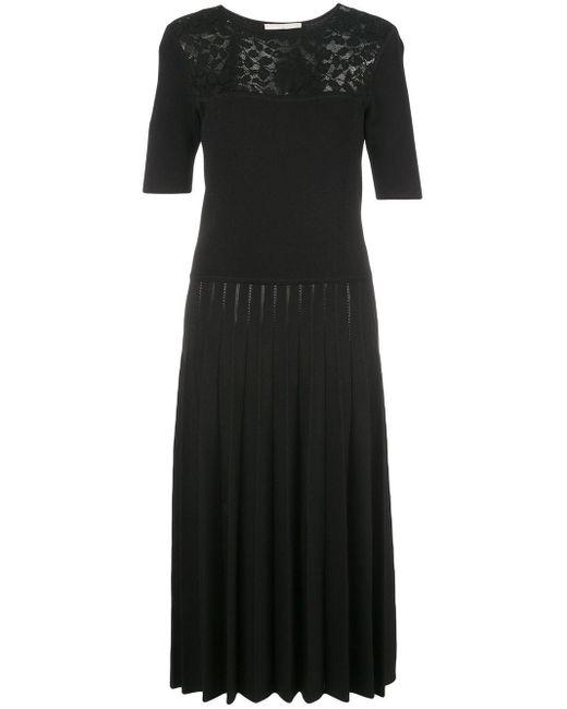 Jason Wu コントラスト ドレス Black