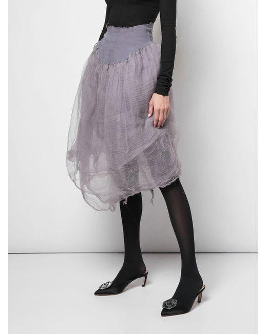 Marc Le Bihan チュール スカート Multicolor