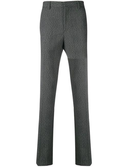 メンズ CALVIN KLEIN 205W39NYC サイドストライプ チェックパンツ Gray