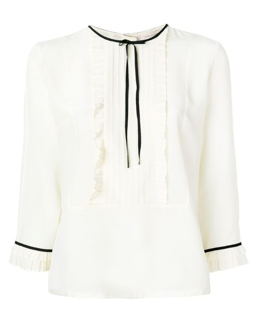 Marc Jacobs シルク ブラウス White
