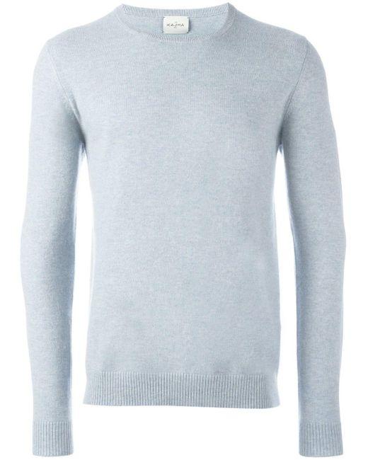Le Kasha Panarea カシミアセーター Blue