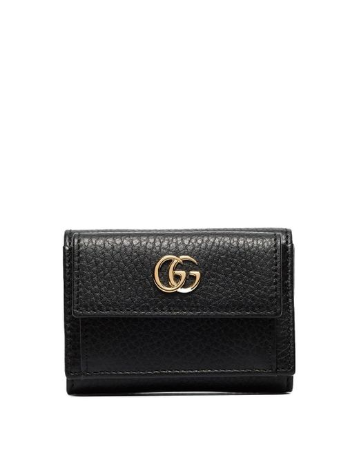 Gucci Black GG Marmont Wallet