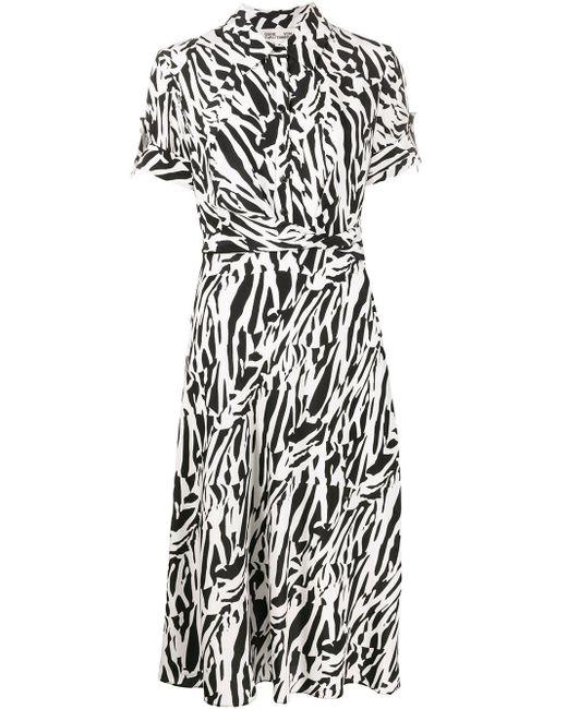 Diane von Furstenberg ショートスリーブ シャツドレス White