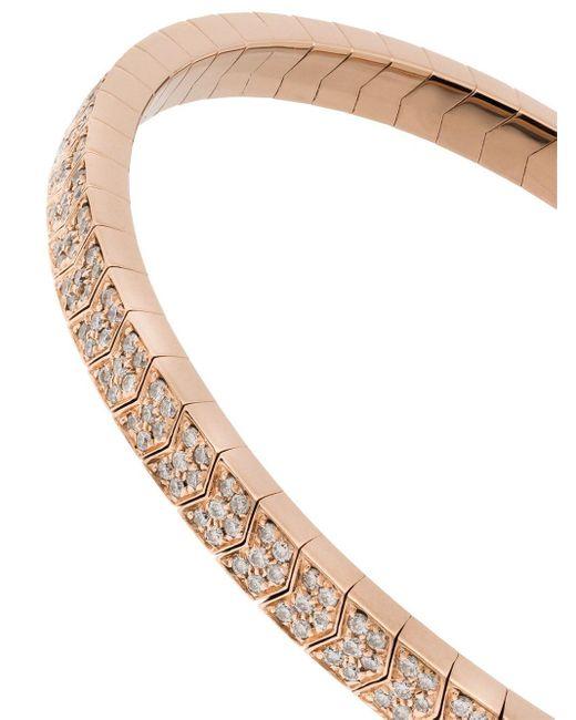 Jacquie Aiche ダイヤモンド ブレスレット 14kローズゴールド Multicolor