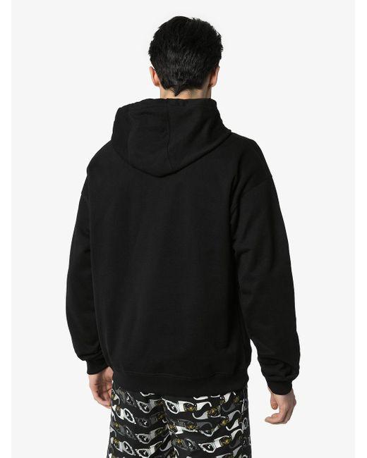 Худи С Логотипом Versace для него, цвет: Black