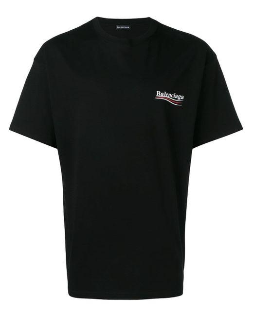 T-shirt à Logo Balenciaga pour homme en coloris Black