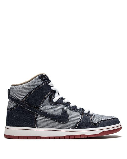 メンズ Nike Sb Dunk High Trd スニーカー Blue