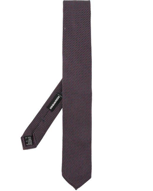 DSquared² Blue Pin Dot Tie for men
