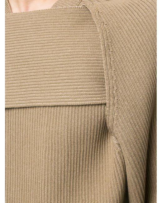 Джемпер С Драпировкой Bottega Veneta для него, цвет: Brown