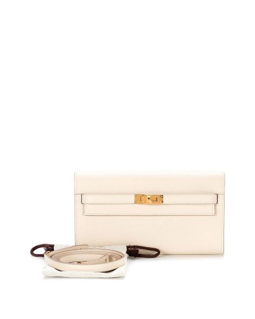 Клатч Kelly To Go Pre-owned Hermès, цвет: Multicolor