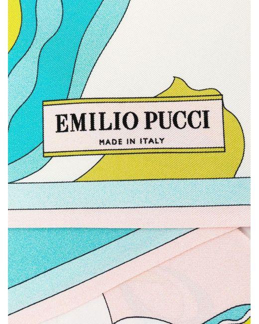 Платок С Цветочным Принтом Emilio Pucci, цвет: Pink