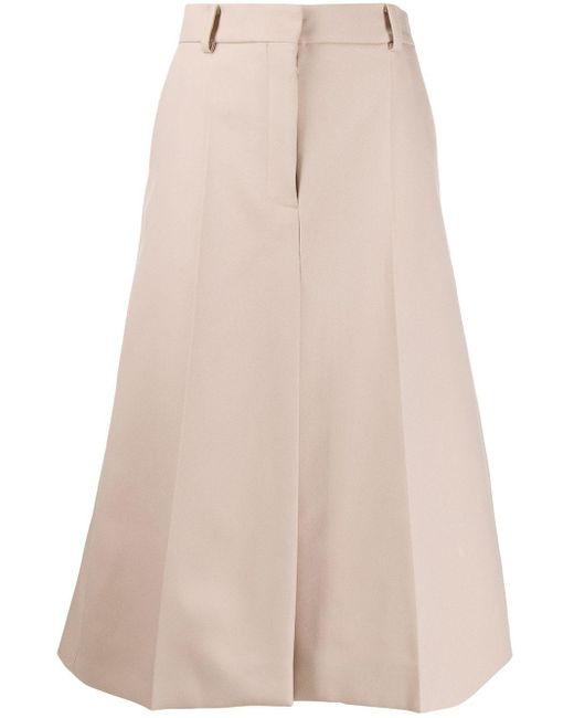 Stella McCartney Aライン ミディスカート Multicolor