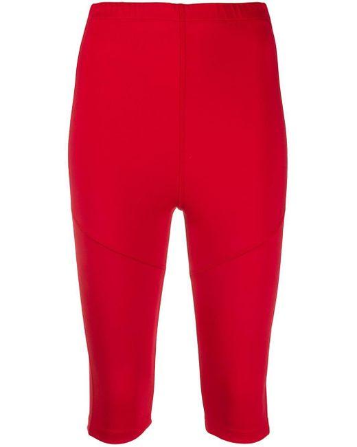Styland サイクリングショーツ Red