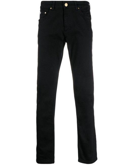 メンズ Versace Jeans スリムジーンズ Black