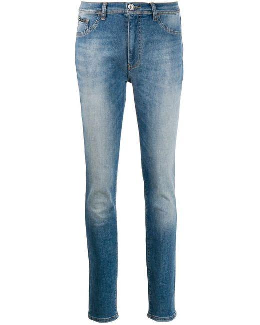 Philipp Plein Original スキニージーンズ Blue