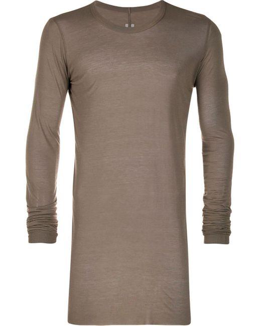 メンズ Rick Owens ロングライン セーター Multicolor