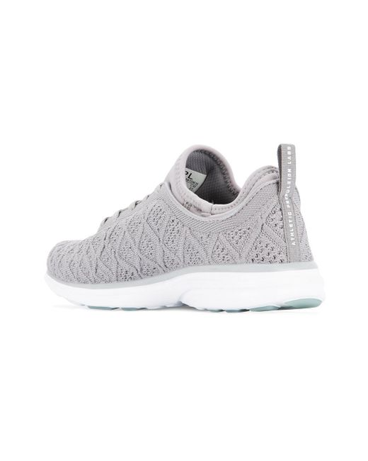 fly knit lace-up sneakers - Grey Athletic Propulsion Labs nRCyZ9Hp