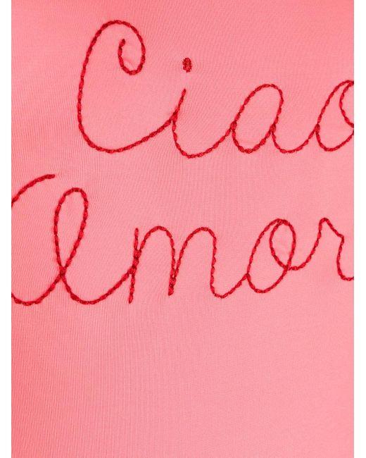 Giada Benincasa Ciao Amore ワンピース水着 Pink
