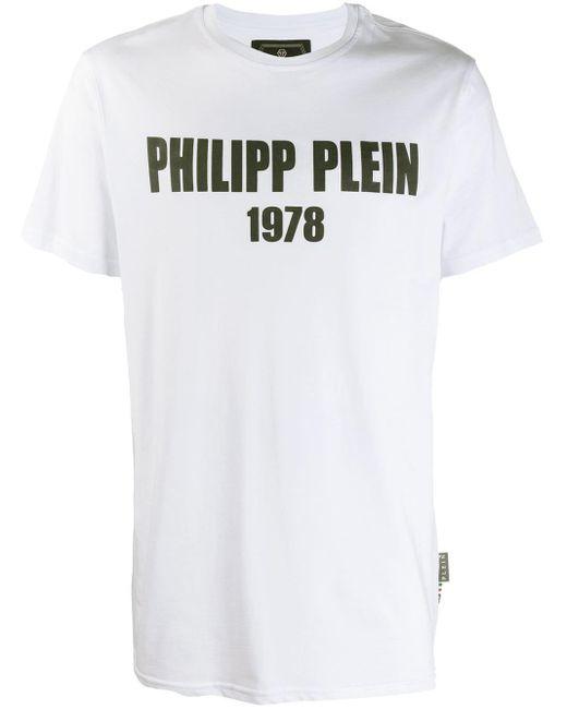 メンズ Philipp Plein Pp1978 Tシャツ White