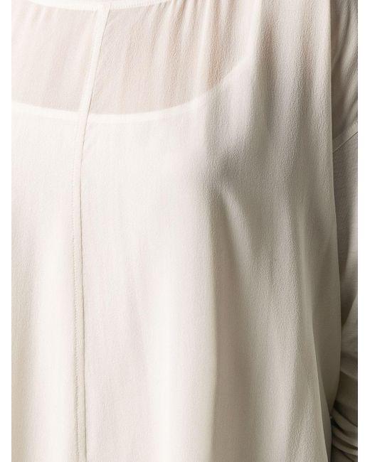 Eileen Fisher ロングスリーブ チュニック White