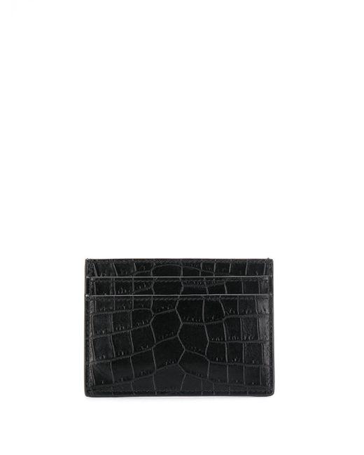Картхолдер С Декором Monogram Saint Laurent для него, цвет: Black