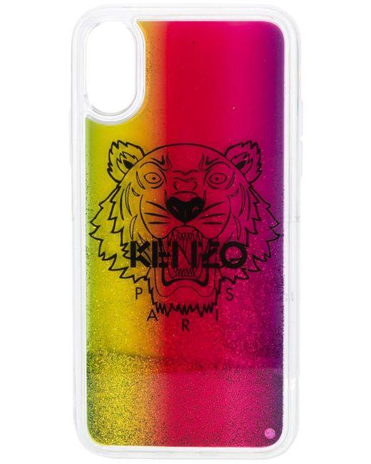 KENZO グリッター Iphone X/xs ケース Pink