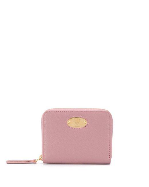 Mulberry ファスナー財布 Pink