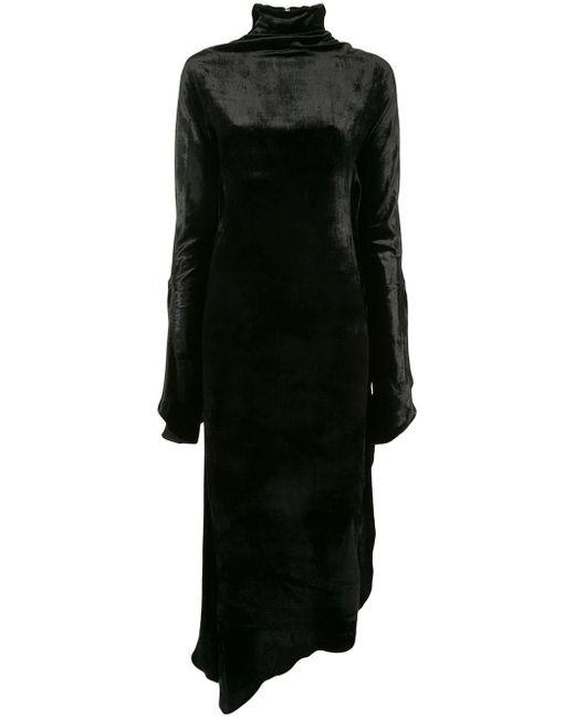 Paula Knorr Relief ハイネックドレス Black